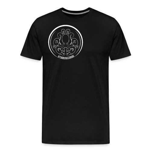 LOGO RECORDS White - T-shirt Premium Homme