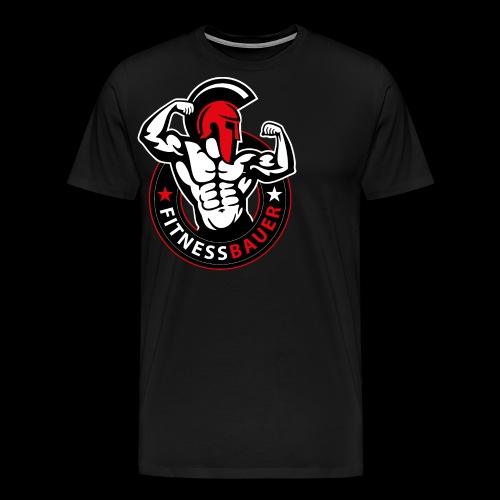 FitnessBauer in Rot - Männer Premium T-Shirt