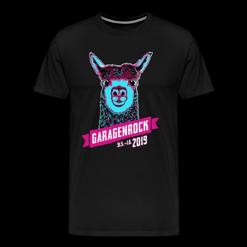 Vorderseite Garagenrock19 - Männer Premium T-Shirt