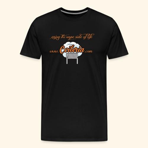 Coileria - enjoy the vape side of life - Männer Premium T-Shirt