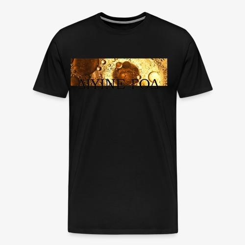 Be Funky Gold 1.0 ΔΙΥΙΝΕ ΓΟΔ - Mannen Premium T-shirt