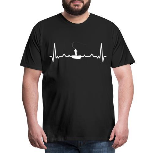 Boot Angeln. - Männer Premium T-Shirt