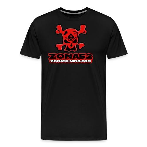 Old Logo del clan zona52 - Camiseta premium hombre
