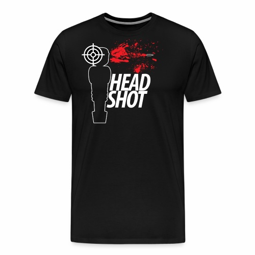 Headshot - Männer Premium T-Shirt