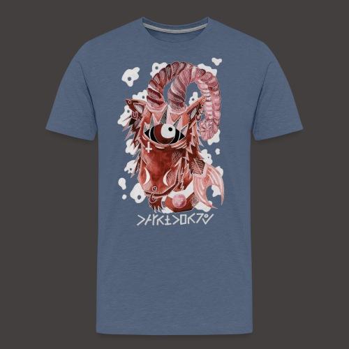 capricorne Négutif - T-shirt Premium Homme
