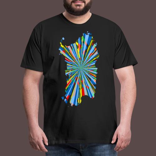 Sardegna Esplosione di Colori - Maglietta Premium da uomo