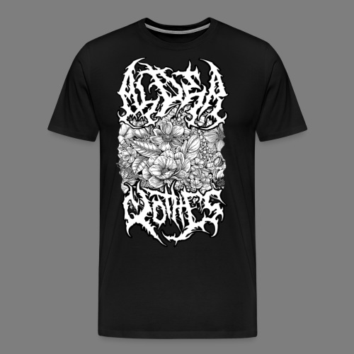 DEATH KUKKA - Miesten premium t-paita