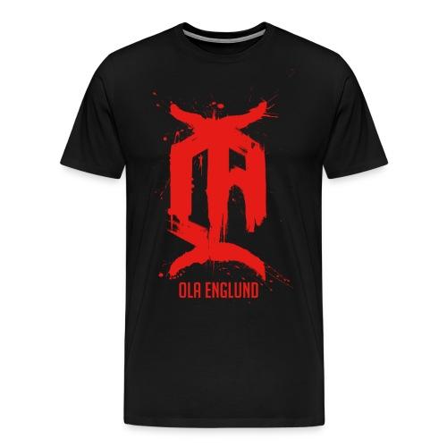 Painted Red 15 - Men's Premium T-Shirt