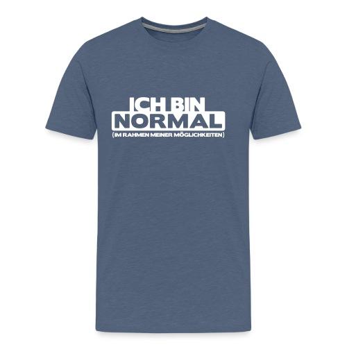 ich bin normal 02 - Männer Premium T-Shirt