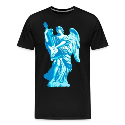 Engel 2018 blauw - Mannen Premium T-shirt
