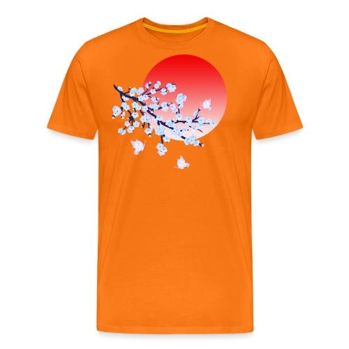 Cherry Blossom Festval Full Moon 4 - Männer Premium T-Shirt