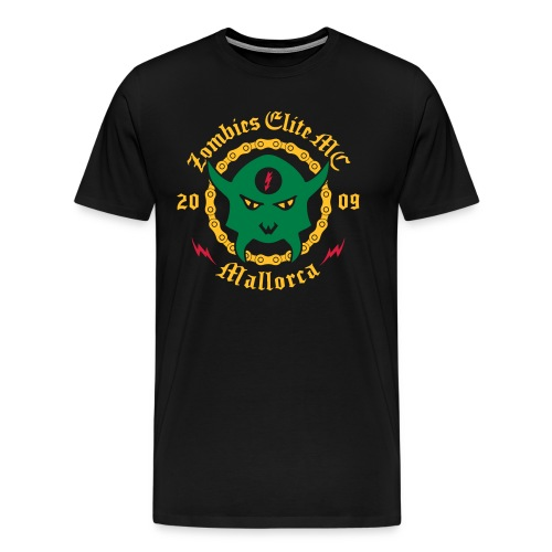 Zombies Elite MC Mallorca X Aniversario 2019 - Men's Premium T-Shirt