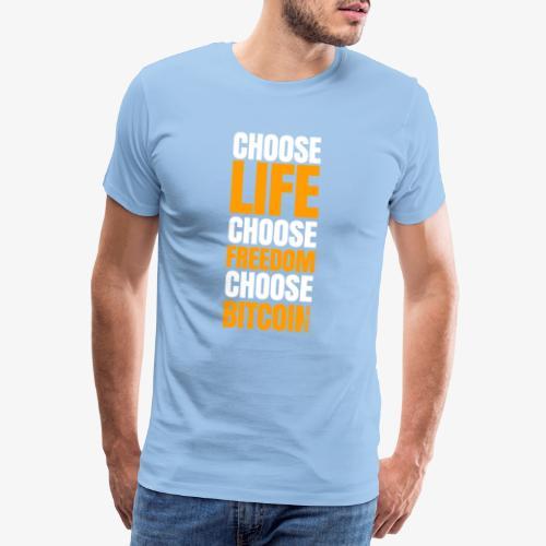 crypto bitcoin cryptocurrency cryptomonnaie - T-shirt Premium Homme