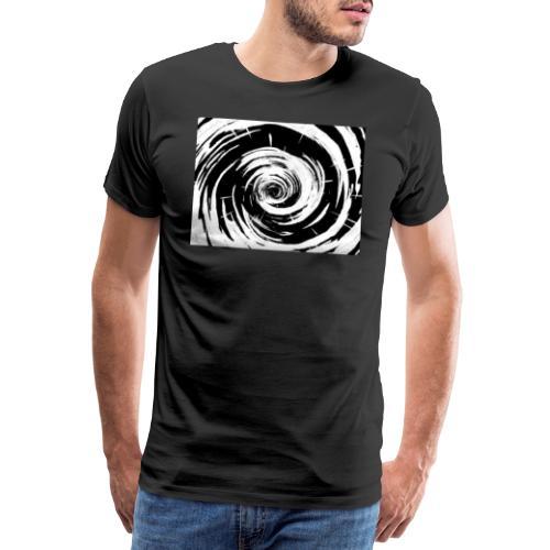 Techno Wirbel - Männer Premium T-Shirt