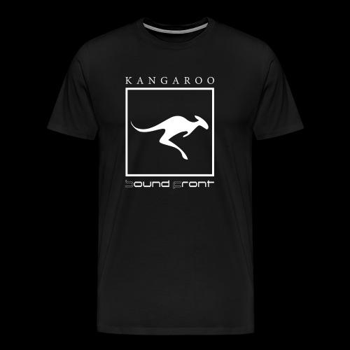 Kangaroo Soundfront - Männer Premium T-Shirt