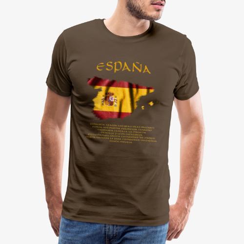 Spanische Flagge - Männer Premium T-Shirt
