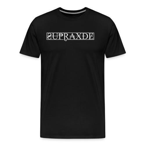 SupraxDE Logo Weiß - Männer Premium T-Shirt