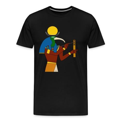 Thot – altägyptische Gottheit - Männer Premium T-Shirt