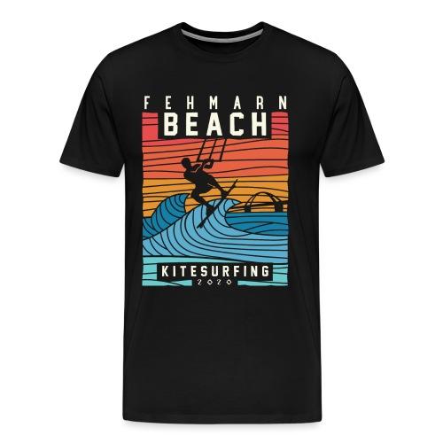 Fehmarn - Kitesurfen - Männer Premium T-Shirt