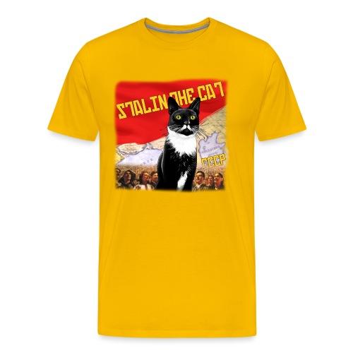 stalinthecat png - Men's Premium T-Shirt
