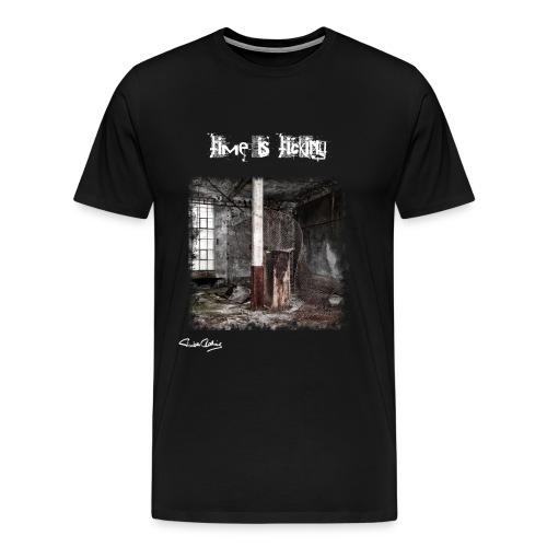 The Factory weiß png - Männer Premium T-Shirt
