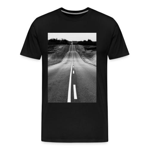 Forever Road - Herre premium T-shirt