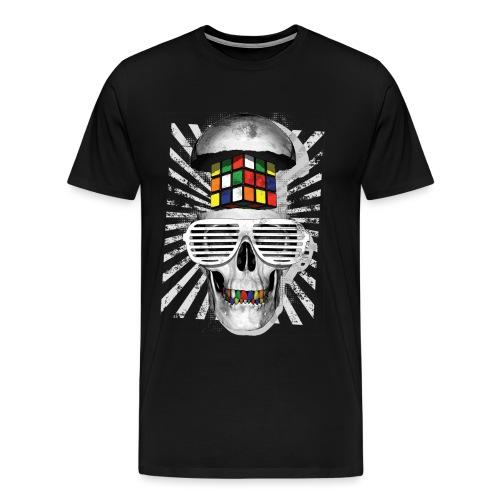 Rubik's Skull Cube - Men's Premium T-Shirt