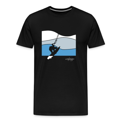 Waves - Männer Premium T-Shirt