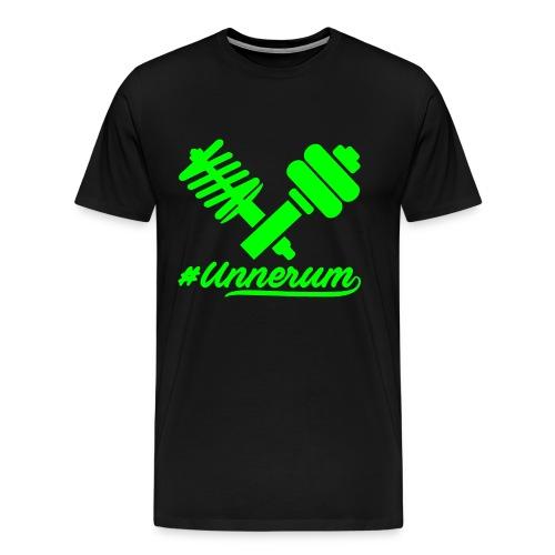 Logo #Unnerum - Männer Premium T-Shirt