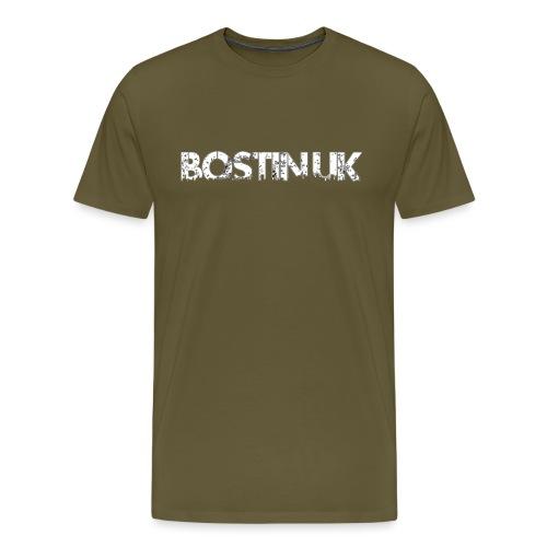 bostin uk white - Men's Premium T-Shirt