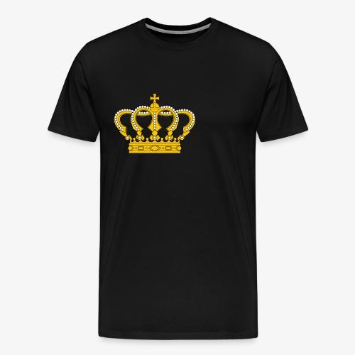Crown Cross - Männer Premium T-Shirt