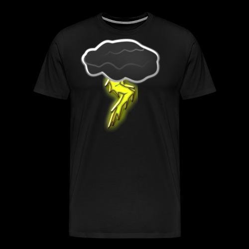 Blitzschlag - Männer Premium T-Shirt