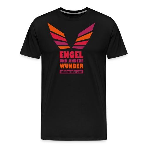 Engel dreifarbig - Männer Premium T-Shirt