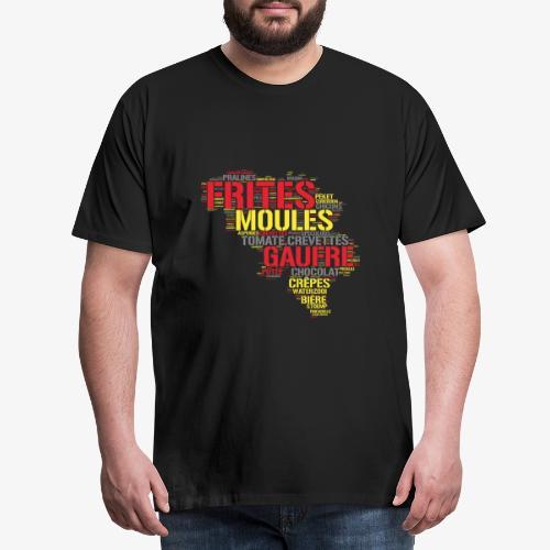 Belgium FR 3 couleurs - T-shirt Premium Homme