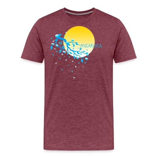 Cherry Blossom Festval Full Moon 2 - Männer Premium T-Shirt