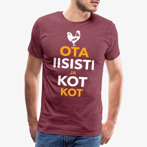 Iisisti Kot Kot - Miesten premium t-paita
