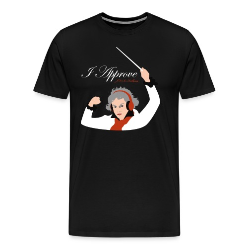 I Approve (White) - Premium-T-shirt herr