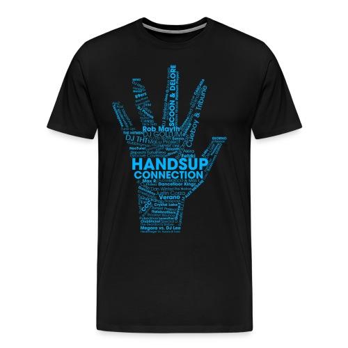 huc tshirt blue png - Men's Premium T-Shirt