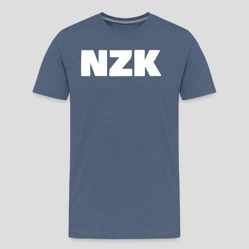NZK logo - Mannen Premium T-shirt