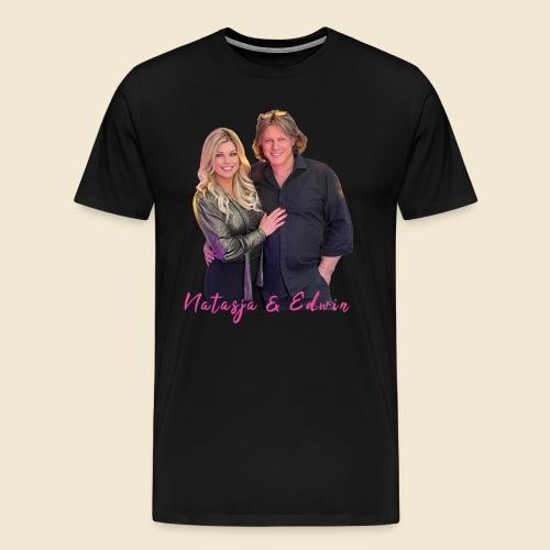 Natasja & Edwin - Mannen Premium T-shirt