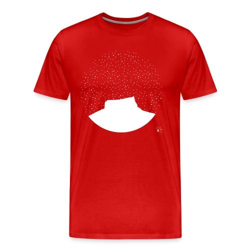 Mont aiguille WLAE White png - Men's Premium T-Shirt