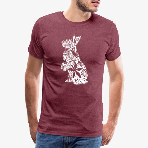 FlowerBunny - Miesten premium t-paita