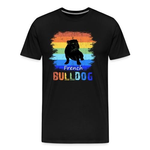 Französische Bulldogge - French Bulldog - T-Shirt - Männer Premium T-Shirt