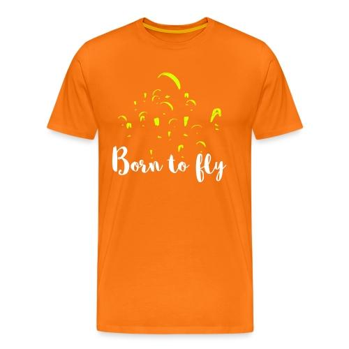 Born to fly - Männer Premium T-Shirt