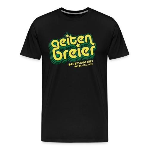 Geitenbreier - Mannen Premium T-shirt