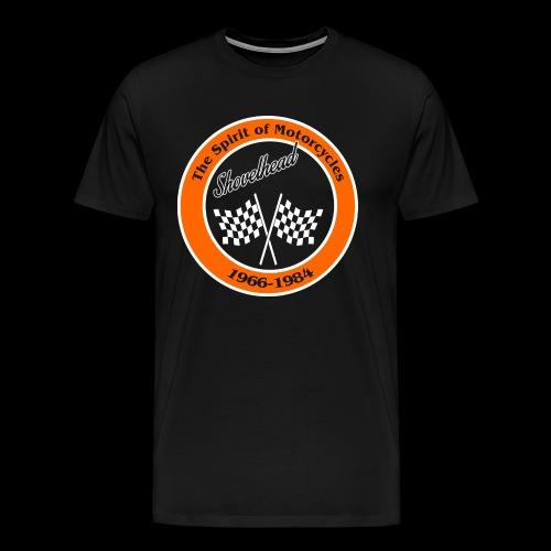 Zielflagge Shovelheat - Männer Premium T-Shirt