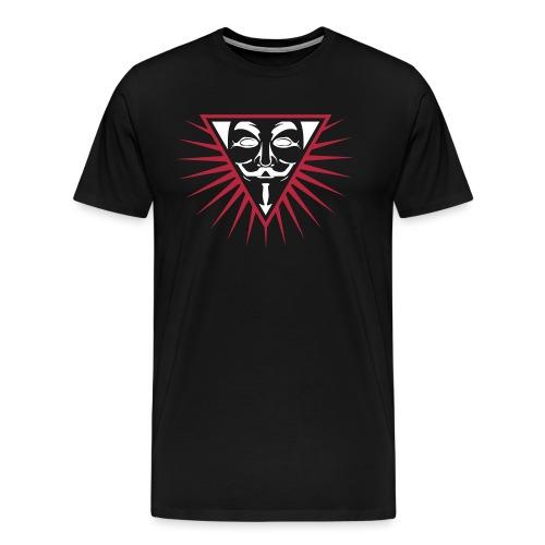 Anonymous NWO logo 3c - T-shirt Premium Homme
