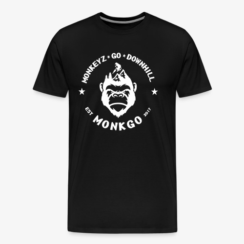 MonkGo Circle - Männer Premium T-Shirt