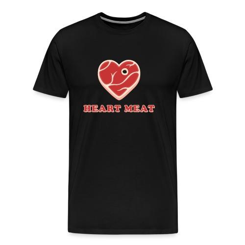 Heart Meat - Heart Beat - Männer Premium T-Shirt