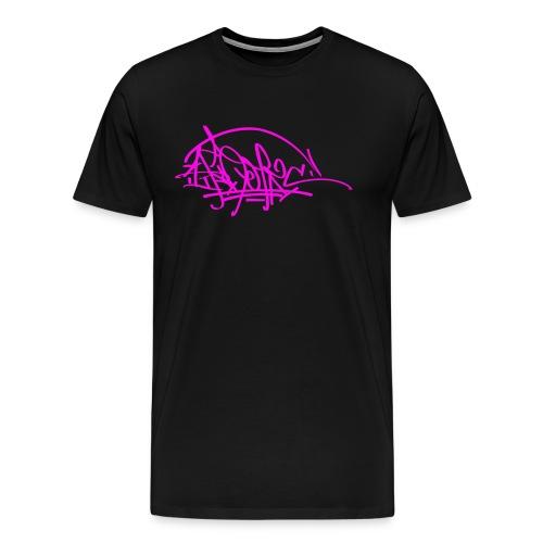 prc ikon rose tag - T-shirt Premium Homme